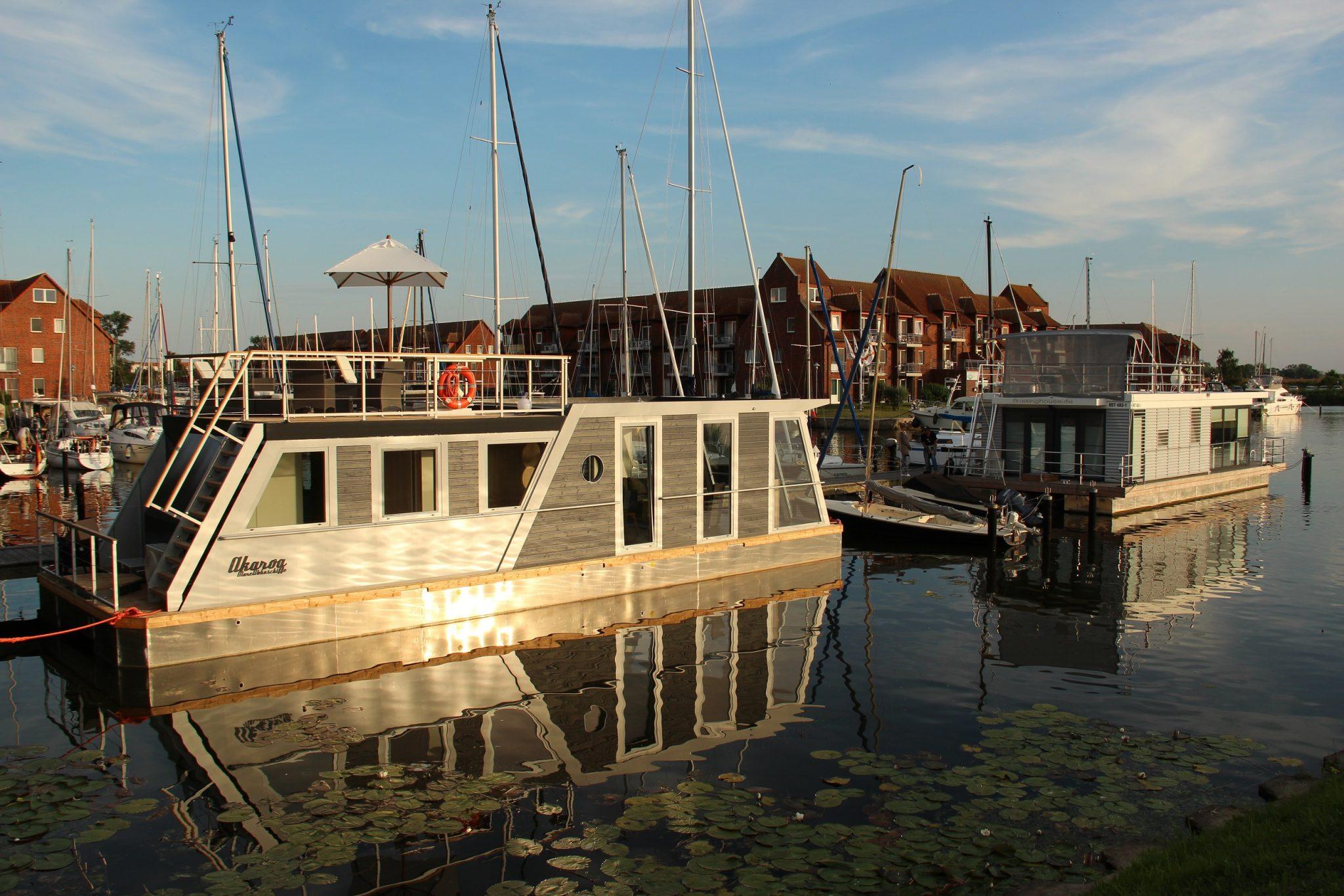 Hausboot mieten marina ueckerm nde for Klassisches hausboot mieten